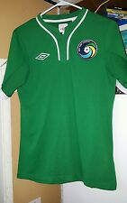 Authentic NASL New York Cosmos Soccer Jersey By Umbro. Men's Size 36/sm