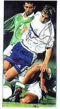 BIXENTE LIZARAZU IN FRANCE KIT WITH ONE OTHER HANDSIGNED PHOTO SHEET 12 x 8