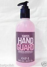 OPI Nail Treatment Swiss Guard Hand Sanitizer Antiseptic Gel 8oz/120ml