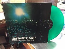 Greenbelt Live! SOUNDTRACK LP 1979 VG+ Green Vinyl Poster +Booklet Cliff Richard