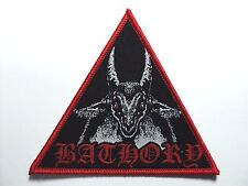 BATHORY TRIANGULAR WOVEN PATCH