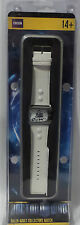 DOCTOR WHO : DOCTOR WHO COLLECTORS WATCH WITH WHITE STRAP & TIN. (TK)