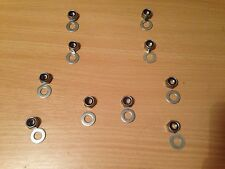 BMW E36/E46/M3 Stainless Steel Front/Rear Suspension Top Mount Nuts Hardware Kit