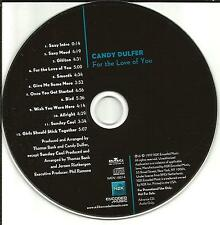 CANDY DULFER For the Love of You USA MINT ADVNCE PROMO DJ CD MINT 1997