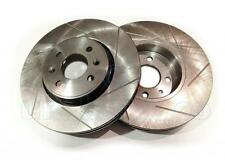 GROOVED Performance FRONT Brake Discs RENAULT SCÉNIC II 1.5 dCi (JM0F) 2003-On