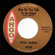 HEAR Etta James 45 How Do You Talk To/Would It Make Any ARGO 5430 soul R&B