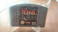 THE NEW TETRIS  NINTENDO 64 PAL