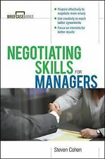 NEW - Negotiating Skills for Managers by Steven Cohen