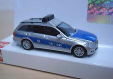 """Busch - Mercedes-Benz C-Klasse T (S 204) """"Polizei Thüringen"""" - Nr. 43664 -1:87"""