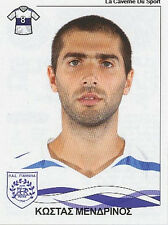 N°301 K. MENDRINOS PAS GIANNINA STICKER PANINI GREEK GREECE LEAGUE 2010