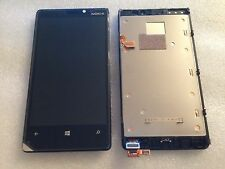 Original LCD Touchscreen Display Front Digitizer Rahmen Schwarz Nokia Lumia 920