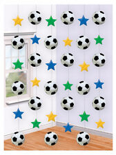 42ft x Football Soccer Birthday Party Hanging String Decorations