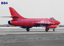 "HAWKER HUNTER 7"" X 5"" PHOTOGRAPH (B84)"