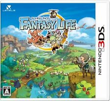 USED Fantasy Life Japan Import Nintendo 3DS