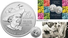 2012 Silver $20 THE QUEEN'S DIAMOND JUBILEE Coin
