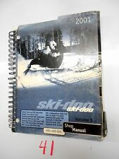 Ski-Doo Service Shop Manual 2001 SUMMIT H.M. 700 & 2001 SUMMIT H.M. X 800