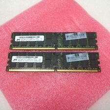 8GB 2x 4GB Micron DDR2-800 RAM PC2-6400P CL5 2Rx4 ECC REG Registered