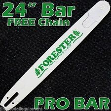"24"" Pro Bar for Husqvarna 257,357,362,455,460,Uses 3/8"" Pitch Chain,Free Chain"