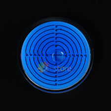 75*15mm Disc Bubble Spirit Level Round Circle Circular level For Measuring Blue