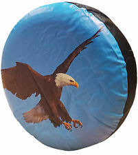 4X4 TIRE COVER AMERICAN BALD EAGLE BIRD SPARE WHEEL TYRE COVER SUZUKI FREELANDER