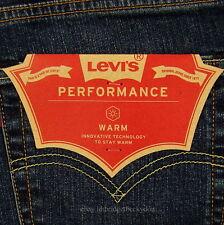 Levis 511 Slim Fit Jeans Mens New Size 32 x 34 DARK BLUE W/FADE Levi's NWT