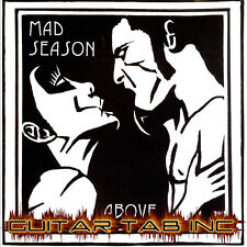 Mad Season Guitar & Bass Tab ABOVE Lessons on Disc Alice In Chains Rare