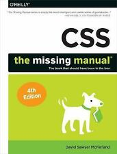 CSS: the Missing Manual by David Sawyer McFarland (2015, Paperback)