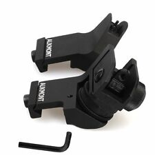 AUKMONT Backup Iron Sights Front & Rear 45 Degree Offset Rapid Transition