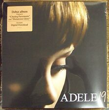 ADELE 19 LP SEALED late-00's neo-soul w/download XL