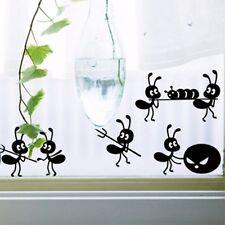 DIY Funny Ants move Wall Stickers Cartoon ON Mirror Window Furnishing Home Decor