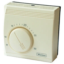 Wickes Universal Room Thermostat Energy Mechanical Temperature ControlTrendy035p