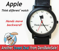 Apple Watch Think Different Vintage Backwards Movement In Excellent Condition!