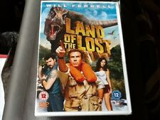 THE LAND OF THE LOST . WILL FERRELL . ANNA FRIEL . NEW STILL SEALED