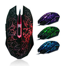 Professional Colorful Backlight 4000DPI Optical Wired Gaming Mouse Gaming-Maus