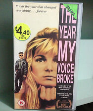 THE YEAR MY VOICE BROKE - BEN MENDELSOHN & LOENE CARMEN - VHS