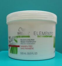 Wella Elements Reconstructing Mask 16.9oz BRAND NEW & FRESH- FREE EXPEDITED SHIP