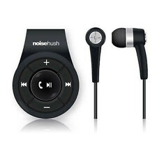 NEW NOISEHUSH NS560 BLACK CLIP-ON BLUETOOTH WIRELESS HEADSET FOR ALL PHONES IPOD