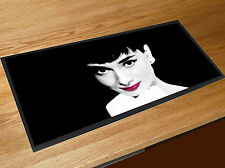Audrey Hepburn bar runner home bar counter mat Pubs Clubs & Cocktail Bars