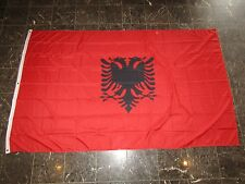 5x8 ft Albania Albanian Flag Rough Tex Knitted 5'x8' Banner