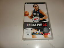 PlayStation Portable PSP  NBA Live 08