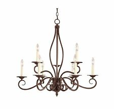 Savoy House KP-99-9-91 Chandelier with No Shades, Sunset Bronze Finish