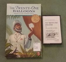 THE TWENTY-ONE BALLOONS William Pène du Bois CHAPTER BOOK TAPE Newbery Medal