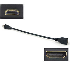 Black HDMI Male to HDMI Female Converter Adapter Extension Cable Cord Wire 1080p