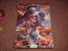 Star Wars 30th Anniversary Poster Artwork Collage size 22.5 x 36