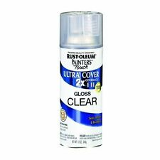 Rust-oleum Clear Gloss Finish - Ultra Cover 2x Spray Paint 12 oz Can 249117
