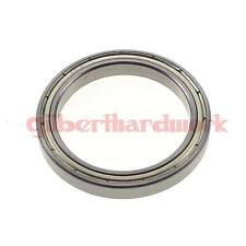 (1) 25 x 42 x 9mm 6905zz Shielded Deep Groove Ball Thin-Section Radial Bearing