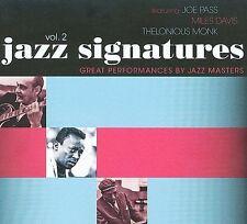 Jazz Signatures, Vol. 2 [Digipak] by Various Artists (CD, Jan-2009, Hear Music)
