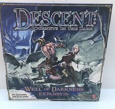 Descent: Journeys in the Dark  The Well of Darkness expansion Board Game
