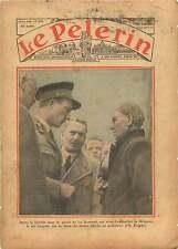 Roi léopold de Belgique Mineurs de la Bouverie Grisou Belgium 1936 ILLUSTRATION
