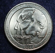 2013 USA  quarter dollar  South Dakota
